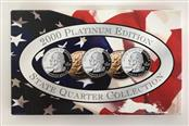 UNITED STATES Mint Set 2000 PLATINUM EDITION STATE QUARTER COLLECTION